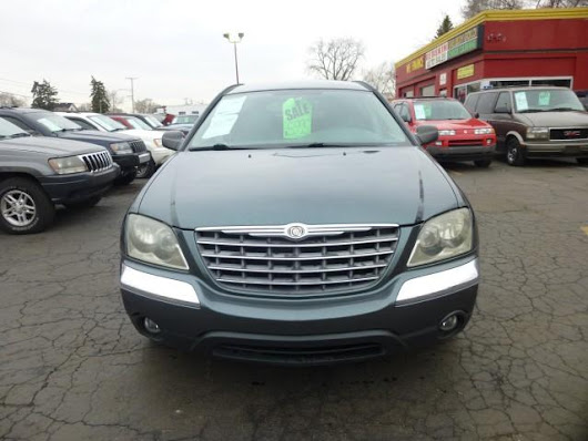 Used 2004 Chrysler Pacifica for Sale in Detroit MI 48213 Redskin Auto Sales