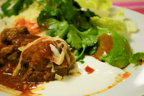 meatball burrito night
