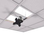 Crimson Extreme Tilt Above Grid Flush Ceiling TV Mount Kit CXT-KIT1