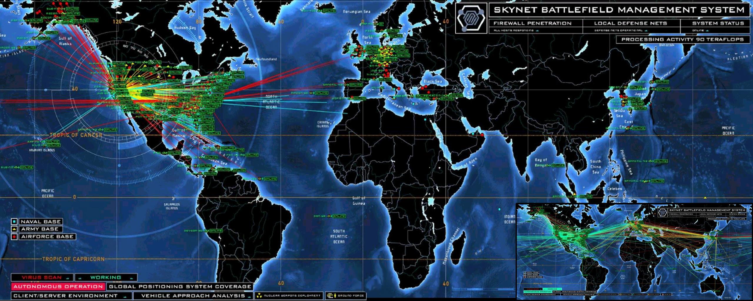 Skynet, NSA, curiosidades, vigilancia, estados unidos, terrorismo,