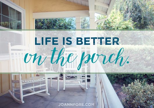 Life on the Porch