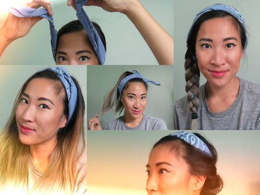 How to Hairstyles With Bandanas |