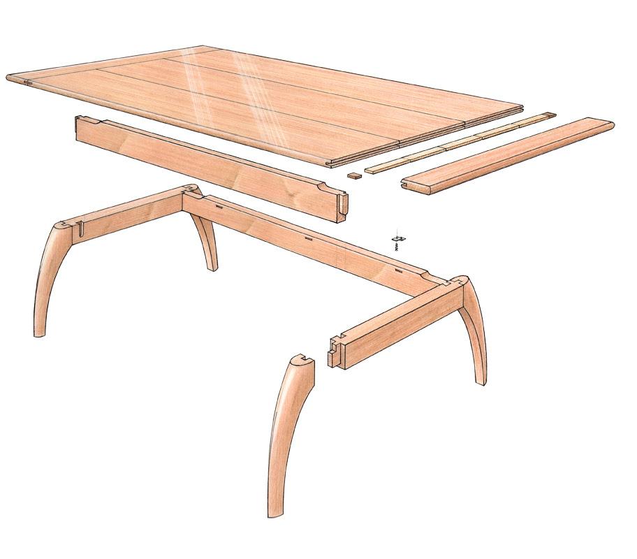 Free Plan: Mahogany Coffee Table - FineWoodworking