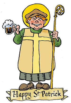 Authentic portrait of St Patrick