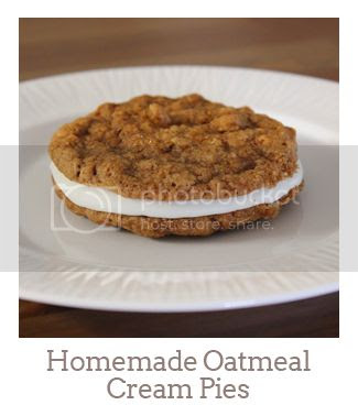 """""""Homemade Oatmeal Cream Pies"""""""