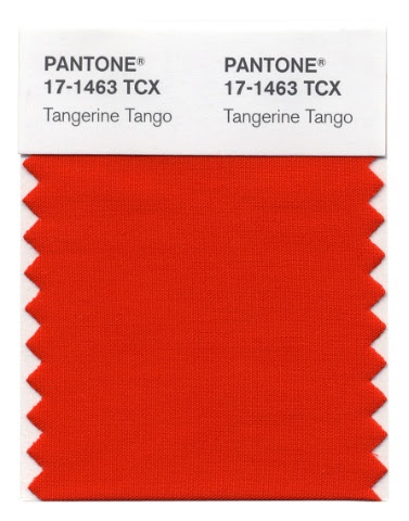 17 1463TangerineTango Pantones 2012 Color of the Year Announced:  Tangerine Tango!
