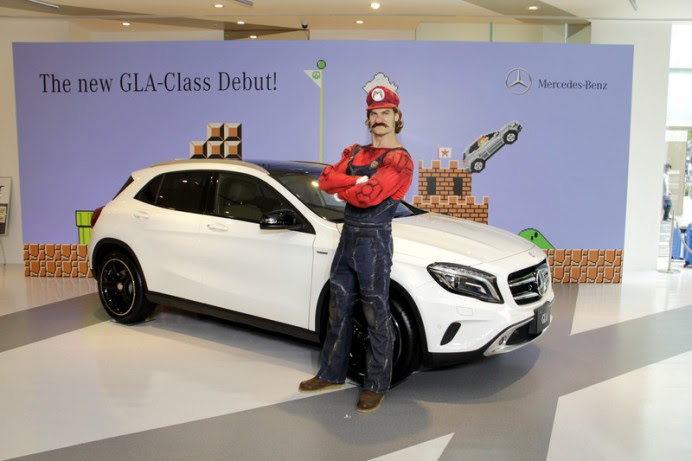Mario Kart players can now download a Mercedes Benz GLA in ...