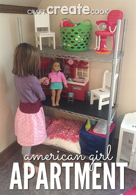 craft create cook diy american girl doll apartment