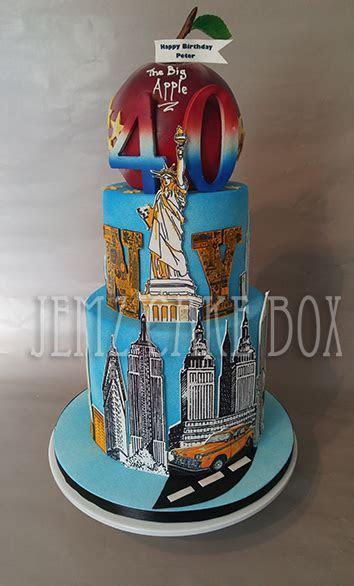 New York Skyline Cake from £199   Jemz Cake Box
