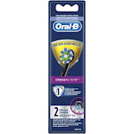 Oral-B CrossAction Electric Toothbrush Replacement Brush Head Refills, Black, 2 Count