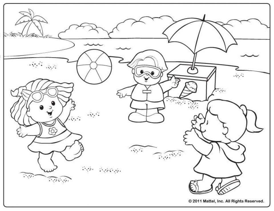 Get This Free Summer Coloring Pages Online Printable 51655