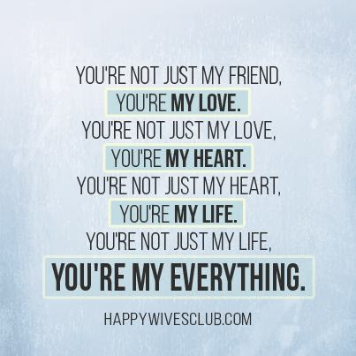 My Love My Heart My Life Happy Wives Club