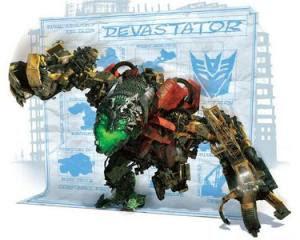 devastator, Robot gabungan dari beberap constructicon