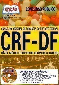Apostila CRF-DF NÍVEL MÉDIO E SUPERIOR (COMUM A TODOS)