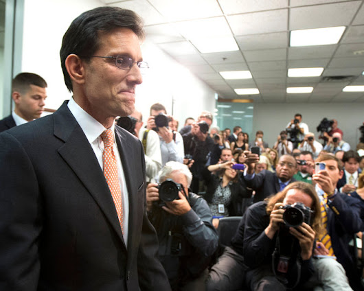 Eric Cantor's Defeat Exposed a Beltway Journalism Blind Spot