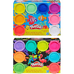 Hasbro HSBE5044 Play-Doh 8 Pack Assortment Pack of 4