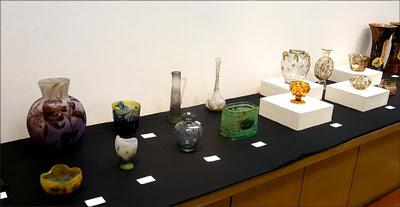 2012秋の美術逸品展,ガレ・ドームなどのガラス工芸品,2012松菱,美術イベント,デパート