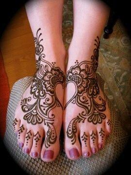 Heart Henna Designs