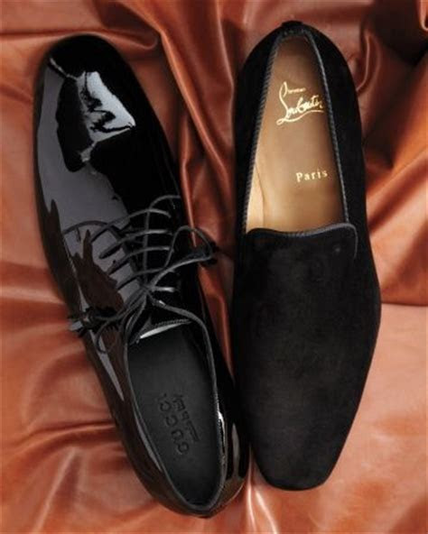 Gucci derby shoes and Christian Louboutin suede ?Dandy