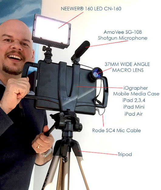 What's that Setup? – iOgrapher Mobile Media Case for iPad plus add-ons | Felix Jacomino