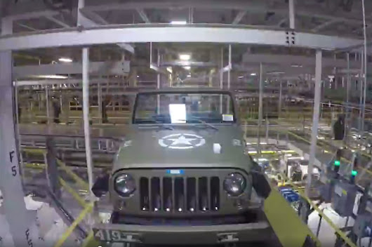 Watch the One-off Jeep Wrangler 75th Salute Get Built in Seconds - Motor Trend