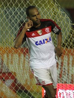 Alecsandro comemora, Bonsucesso x Flamengo (Foto: Alexandre Vidal/Fla Imagem)