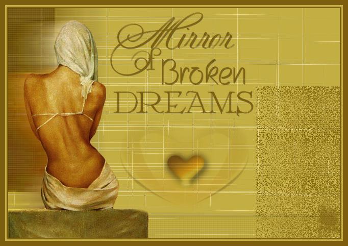 Mirror of broken dreams