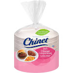 "Chinet 10-3/8"" Dinner Compartment Plates - White - 165-Count"