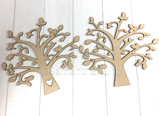 Rustic Family Trees - Samantha K Gifts