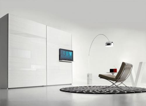 Fimar, armadio scorrevole, armadio tv lcd, armadio con televisione, fimar mobili, mobili brianza, domus arredi