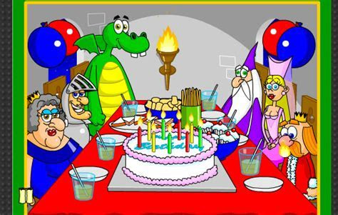 A Medieval Birthday Party. Free Happy Birthday eCards