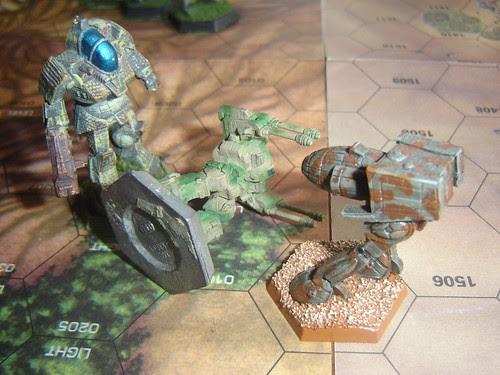 Rifleman's leg taken out by Stalker