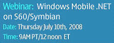 Forum Nokia Webinar - Windows Mobile .NET
