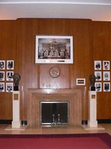 Judges' Gallery, Supreme Court of Canada