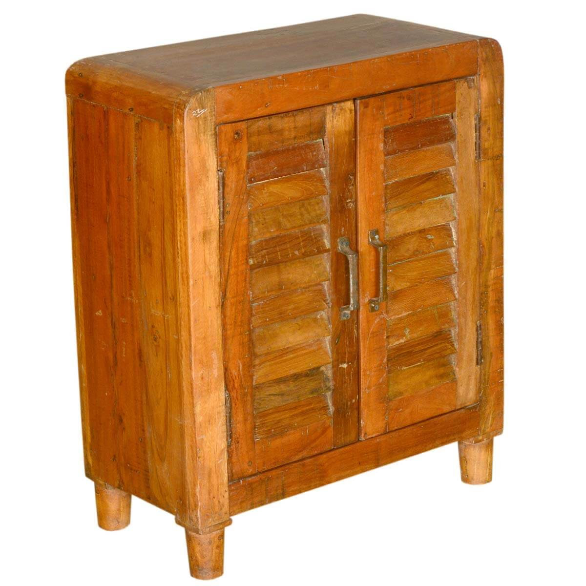 Ventnor Farmhouse Shutter Door Reclaimed Wood Storage ...