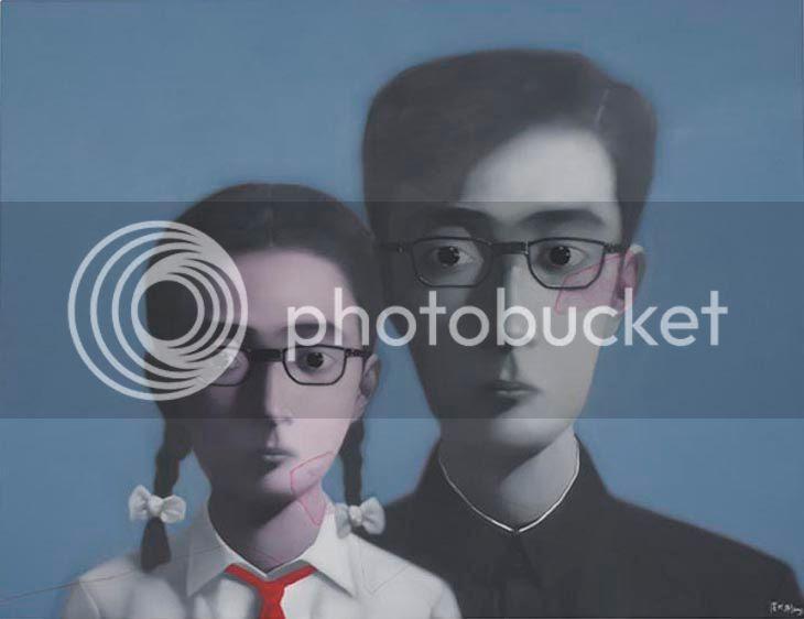 Zhang Xiaogang ligne rouge