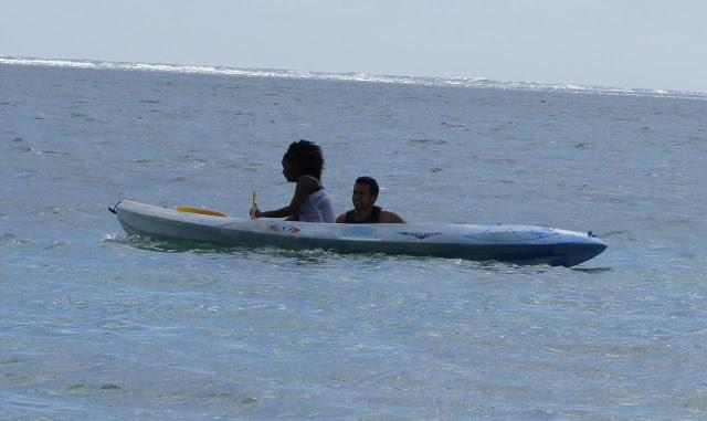 Kitesurf à la Saline -