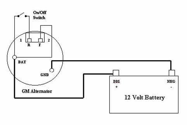 acdelco alternator wiring diagram 1986 33 gm 4 wire alternator wiring diagram wiring diagram list  33 gm 4 wire alternator wiring diagram