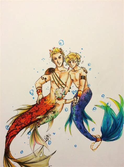mermaid anko family  blackdiamond anime mermaid