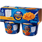 Kraft Macaroni & Cheese Dinner, Original Flavor - 4 pack, 2.05 oz cups