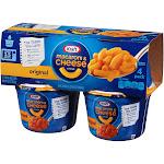 Kraft Macaroni & Cheese Dinner, Original Flavor - 4 pack, 2.05 oz cups