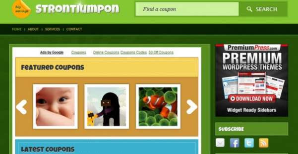 Strontiumpon  Best WordPress Theme
