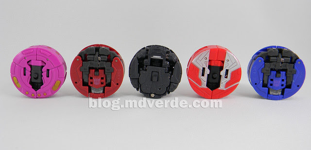 Transformers Data Discs Legends - Generations Fall of Cybertron - modo alterno