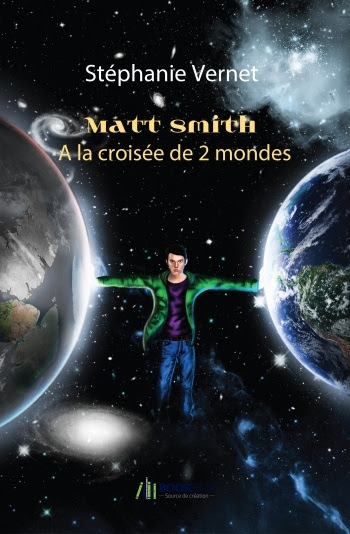Couverture Matt Smith, tome 1 : A la croisée de 2 mondes