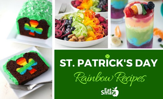 Rainbow Recipes for St. Patrick's Day