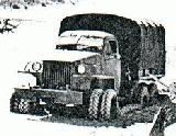 13k photo of Studebaker US6 U4 test with twin front wheels