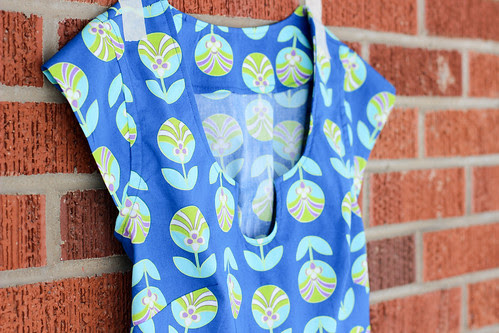 Color Me Retro Washi Tunic by Jeni Baker