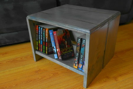 How to Build a Bookshelf Footstool | DoItYourself.com
