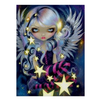 Angel Starlight ART PRINT Jasmine Becket-Griffith print