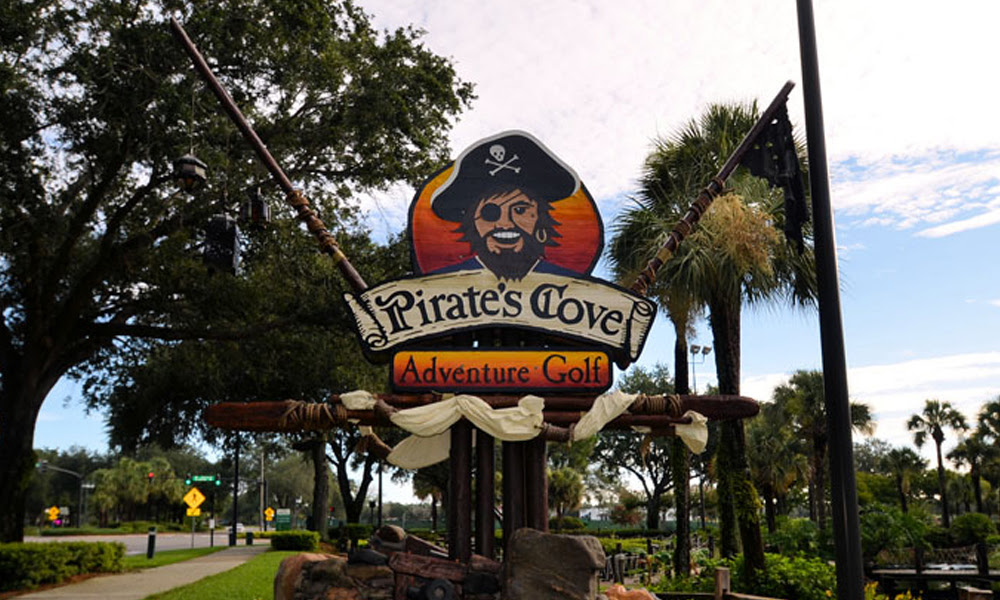This summer it will be gone forever. Pirate's Cove Adventure Golf | Today's Orlando